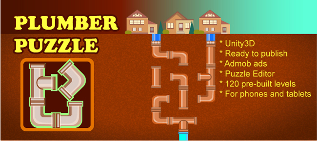 Connect Pipes: Plumber Puzzle