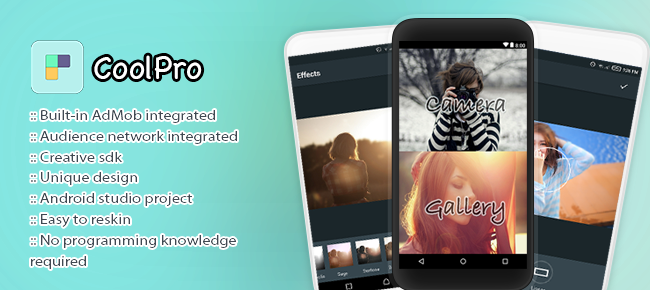CoolPro Photo editor with stickers & effects