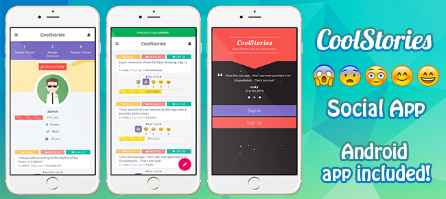 CoolStories - Short Stories Social Network