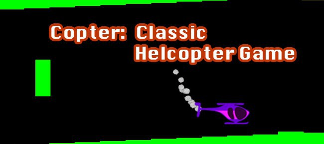 Copter- Classic Helicopter Game