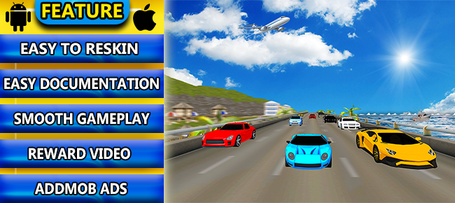 Crazy Car Racing Game