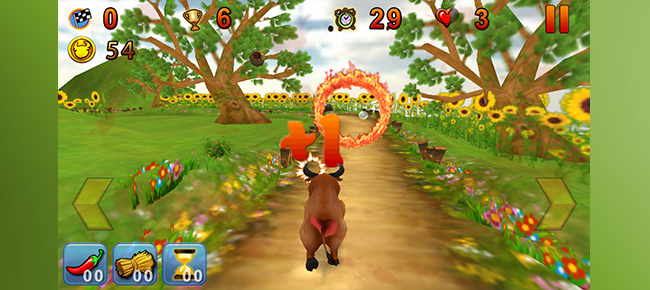 Buy Crazy Ox Endless 3D Running Game for iOS Action For Unity ...