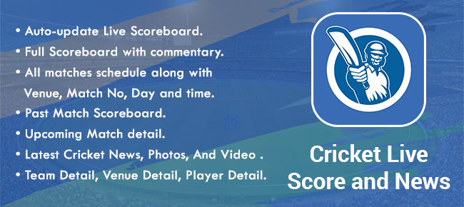 Cricket Live Score and News