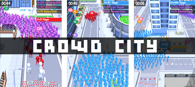 Crowd City - Big Crowd In City