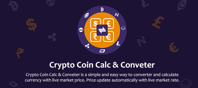 Crypto Coin Calculator & Converter