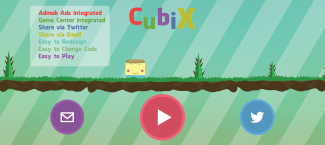 Buy CubiX FREE - The Jump Game (iOS Template - Corona) Casual and ...