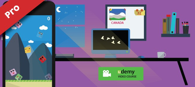 Cute Rush (Pro) - Udemy Course & Source Code.