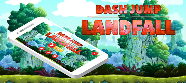 Dash Jump Landfall Game Template With Admob Inters