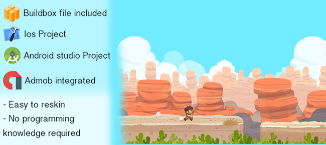 Desert Run Game for ios and android