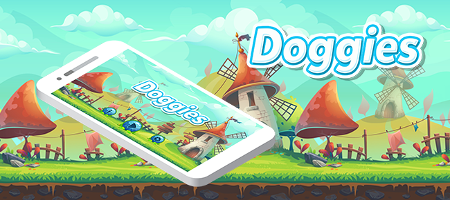 Doggies Game Template With Admob Interstitial Ads