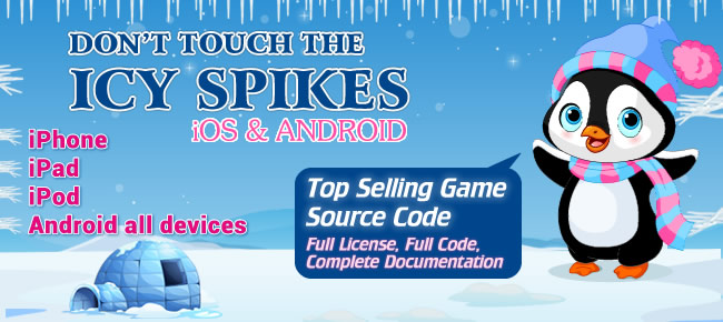 Don't Touch the Icy Spikes Top Selling iOS/Android