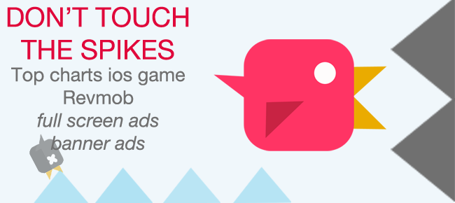 Don't Touch The Spikes iOS game template