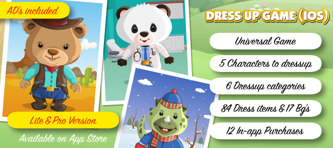 Dress Up Game for Kids & Adults