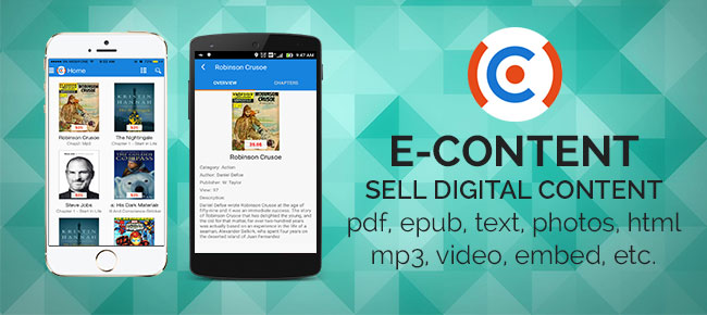E-Content: sell digital content