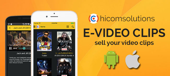 E-Video: sell your video clips (iOS)