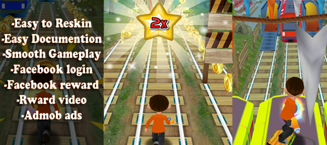 Endless Runner Game Like Subway Surfers