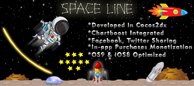 Buy Flappy Astronaut Android & iOS Draw Line in Space ...