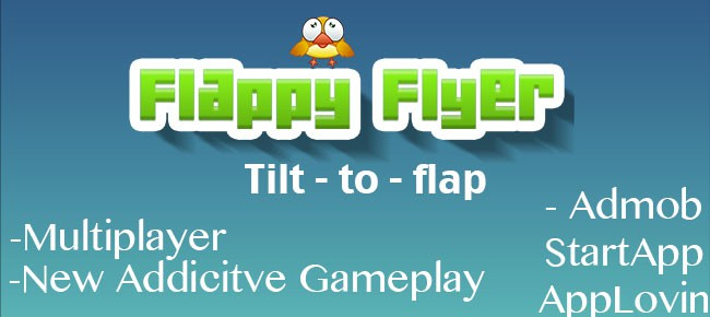 Flappy Flyer - Tilt to play Flappy Bird Style Game