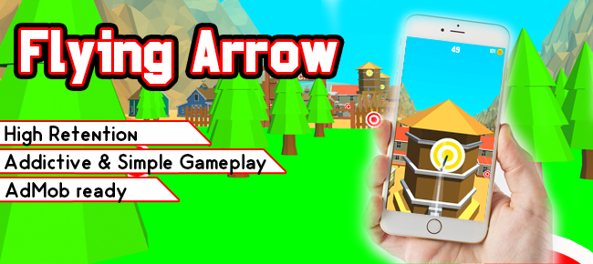 Flying Arrow - Trending Game Template