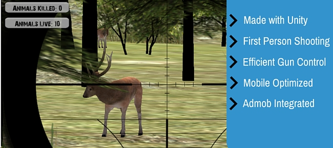 FPS Deer Hunting Unity Project