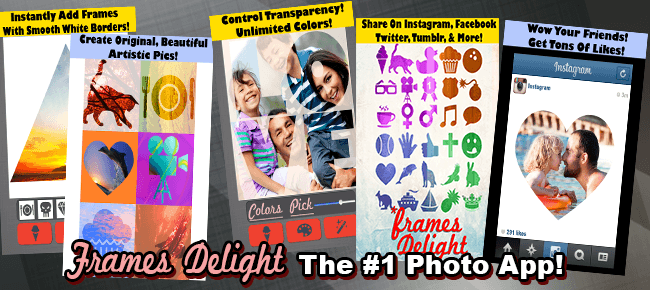 Frames Delight - Full-Featured Photo App for iOS 7