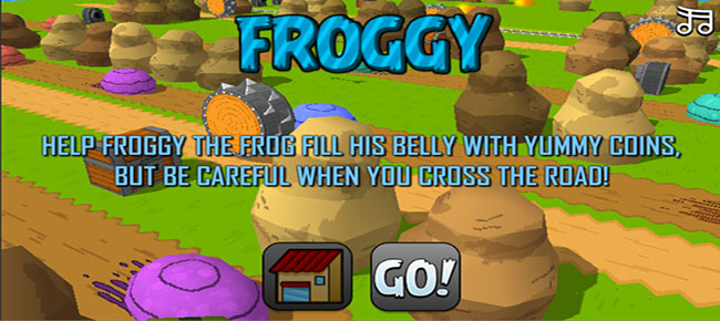 Froggy Game Template