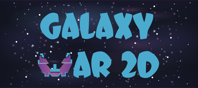Galaxy War 2d - iOS + Android game