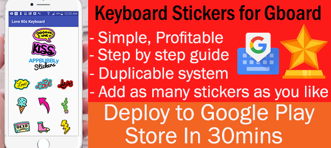 GBOARD Keyboard Stickers for Android