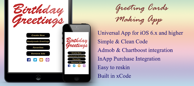 Buy greeting cards making app lifestyle for ios chupamobile greeting cards making app m4hsunfo