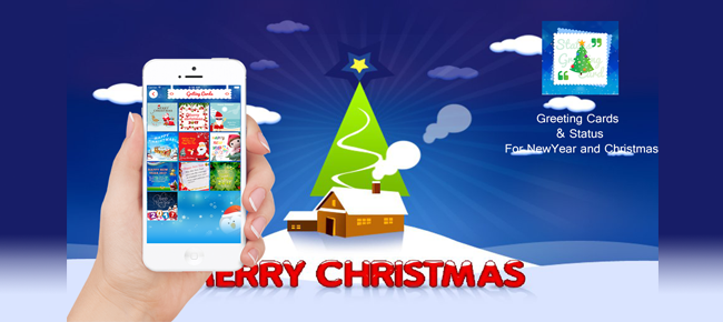 Greeting Cards & Status For NewYear and Christmas