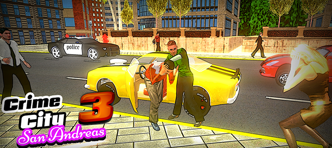 GTA type Open-world action game