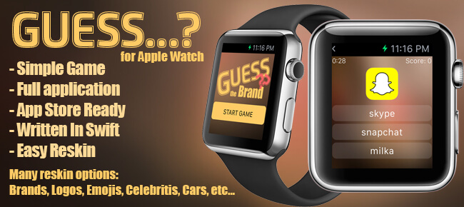 Guess ..? Game For Apple Watch