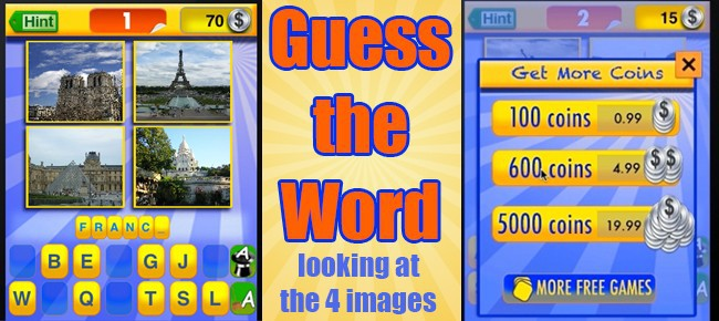 Guess the Word - 4 images, one word - Full Source