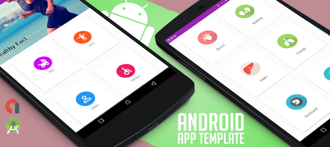 Healthy Life Facts Android Template