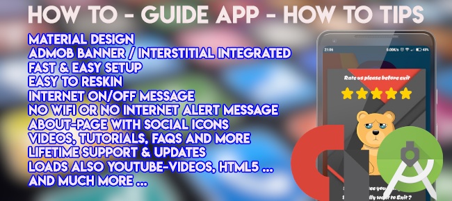 How To - Guide App - How to Tips - application