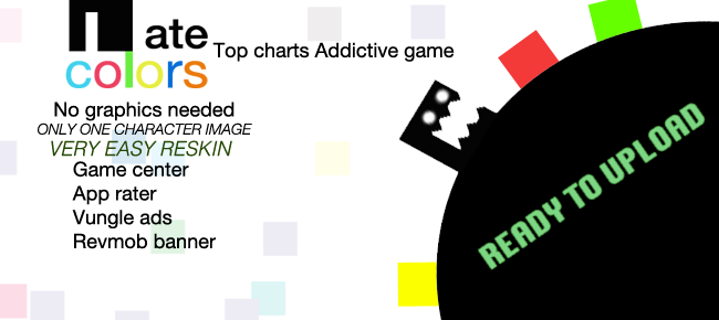 I Ate Colors: Top charts Addictive Game Template