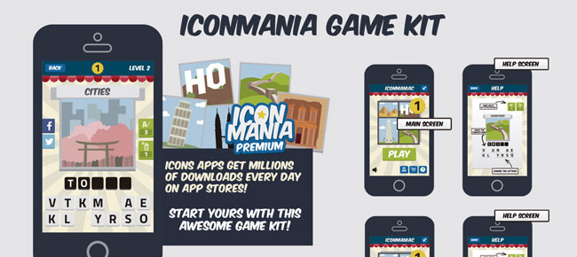 IconMania Game Assets Kit -