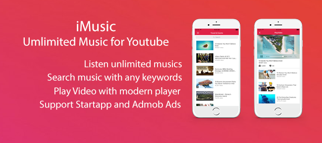 iMusic - Unlimited Music for YouTube