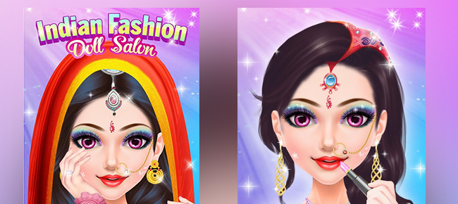 Indian Fashion Doll Makeover