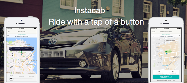 Instacab: Taxi app for Uber like service