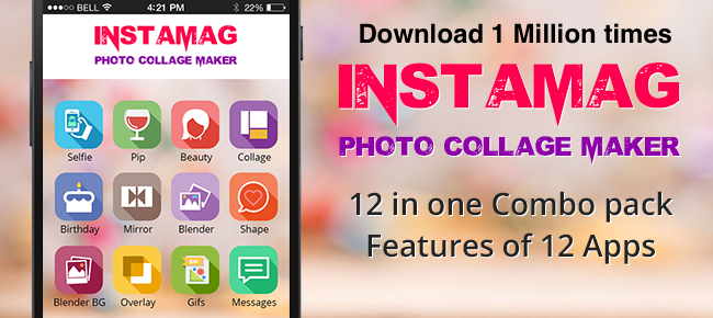 Instamag Photo Collage 12-in-1 Combo Pack