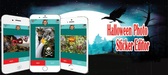 Halloween Photo Sticker Editor