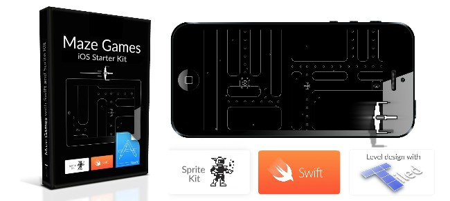iOS8 Maze Games Kit with Swift and Tiled