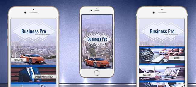 Business Pro App With CMS And Social Media - iOS