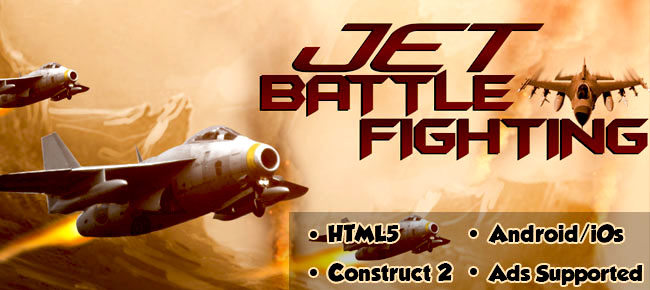 Jet Battle Fighting - Android, iOS, HTML5 Game