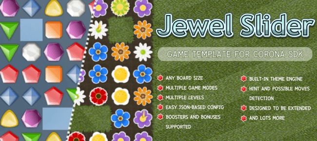 Jewel Slider Game Template