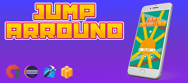 Jump Arround Game Template With Admob