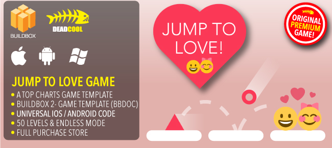 Jump To Love - BuildBox 2 Game Template Document