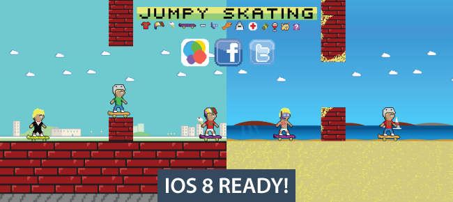 Jumpy Skating