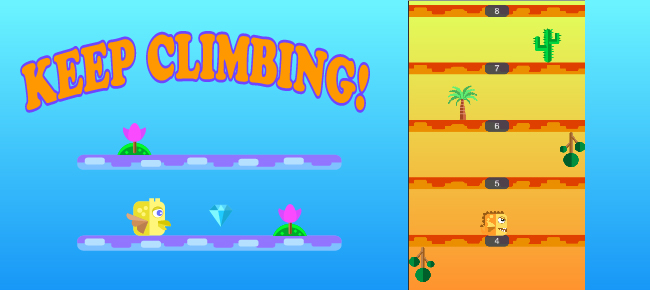Keep Climbing Android Game